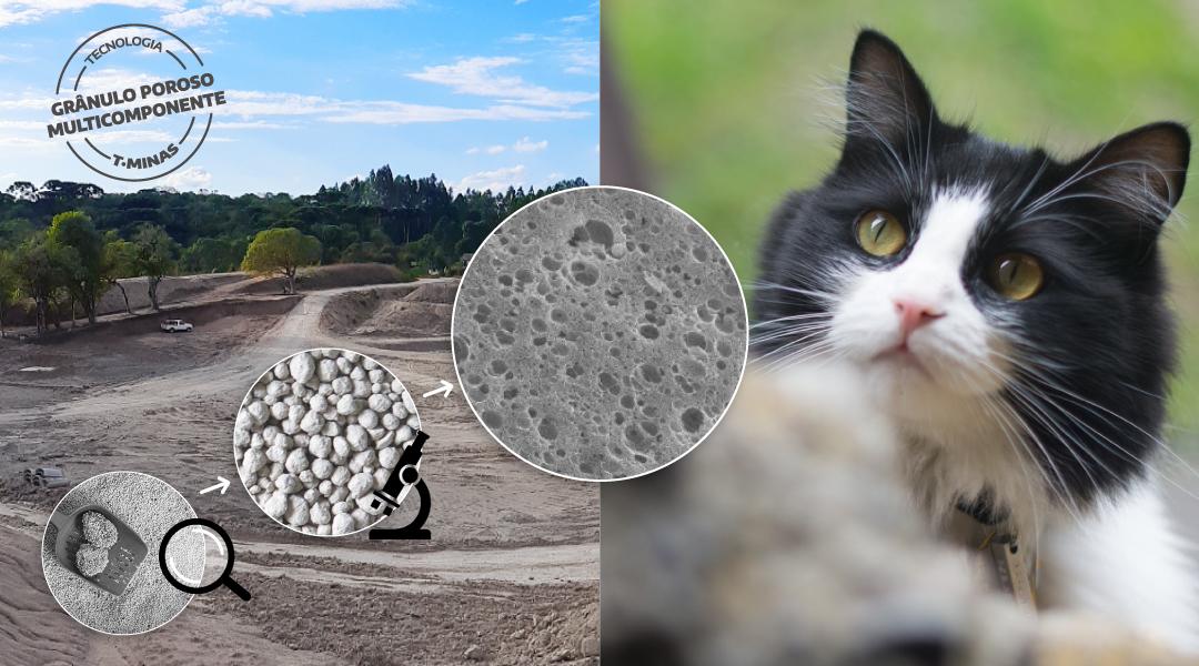 O que é GPM e por que essa é a melhor opção para produzir areia para gatos?